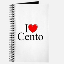 """I Love (Heart) Cento"" Journal"