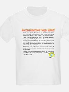 Homeschool Lightbulb T-Shirt