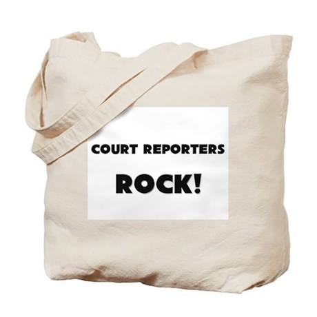 Court Reporters ROCK Tote Bag