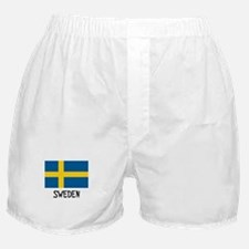 Sweden Flag Boxer Shorts