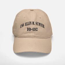 USS ALLEN M. SUMNER Baseball Baseball Cap