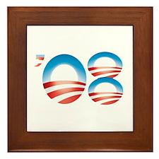 Hope for '08 Framed Tile