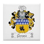 Geremia Family Crest Tile Coaster