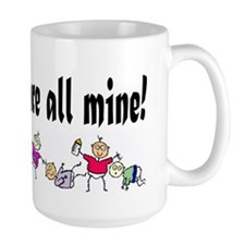 All Mine (8 Kids) Mug