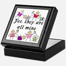 All Mine (8 Kids) Keepsake Box