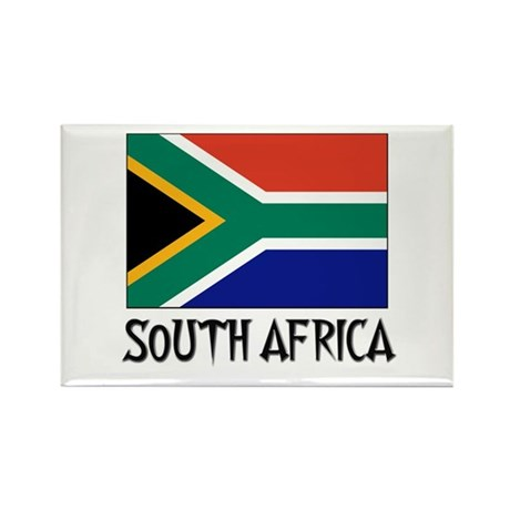 South Africa Flag Rectangle Magnet (10 pack)