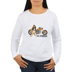 All American Harley Women's Long Sleeve T-Shirt