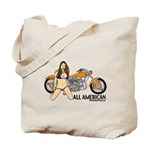 All American Harley Tote Bag