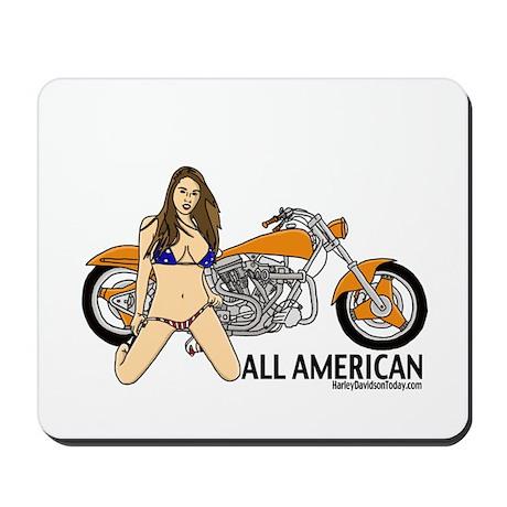 All American Harley Mousepad