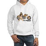 All American Harley Hooded Sweatshirt