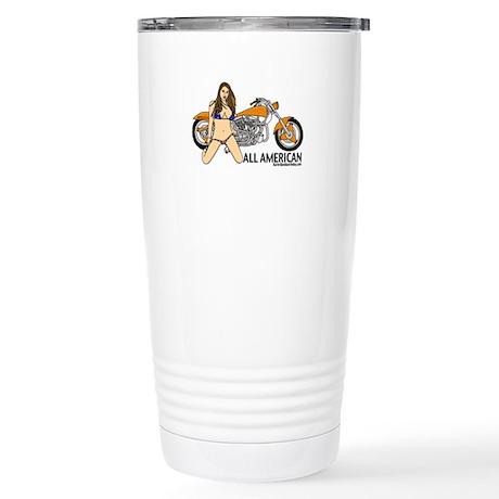 All American Harley Stainless Steel Travel Mug