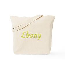Ebony in Gold - Tote Bag