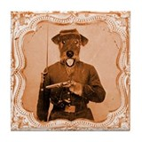 Airedale terrier coaster Drink Coasters