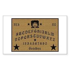Ouija Board Rectangle Decal