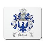 Ghiberti Family Crest Mousepad