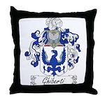 Ghiberti Family Crest Throw Pillow