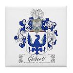 Ghiberti Family Crest Tile Coaster