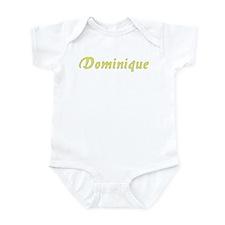 Dominique in Gold - Infant Bodysuit