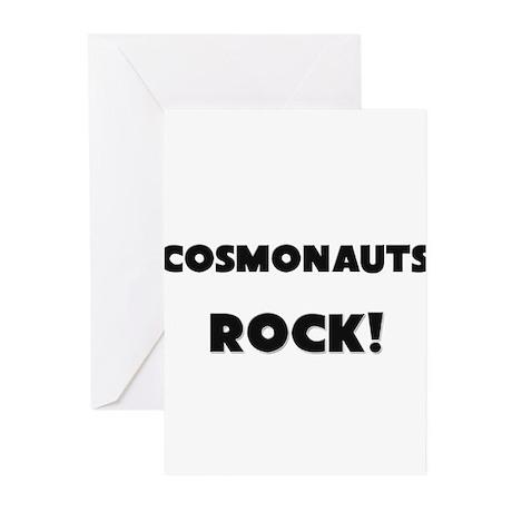 Cosmonauts ROCK Greeting Cards (Pk of 10)