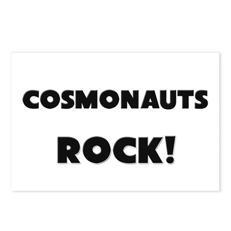 Cosmonauts ROCK Postcards (Package of 8)