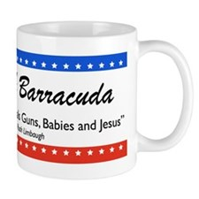 Sarah Palin Barracuda Rush Mug