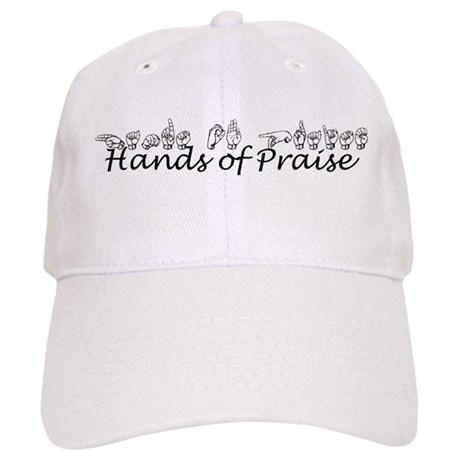 Hands of Praise/no name added Cap