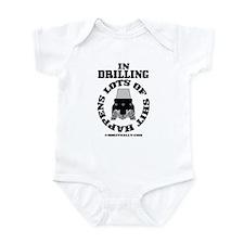 In Drilling Shit Happens Infant Bodysuit