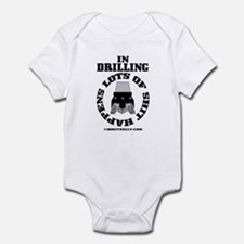 In Drilling Shit Happens Infant Bodysuit