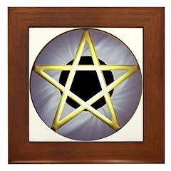 Pentagram - Framed Tile