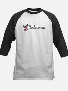 Beefatarian Kids Baseball Jersey
