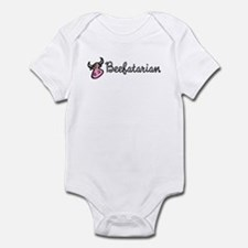 Beefatarian Infant Bodysuit