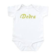 Dedra in Gold - Infant Bodysuit