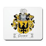 Giacomini Family Crest Mousepad