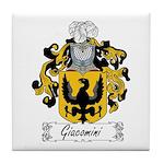 Giacomini Family Crest Tile Coaster