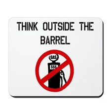 Think Outside The Barrel Mousepad