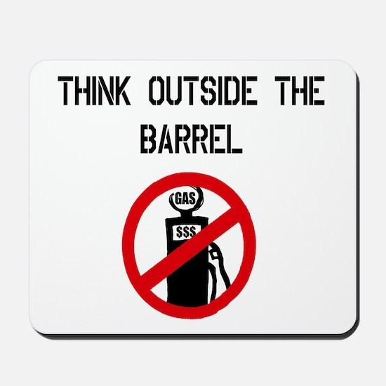 Think Outside The Barrel Mousepad