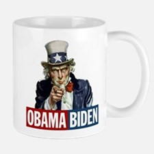 Obama-Biden Uncle Sam R/B Mug