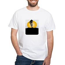 Silhouette Cyclist Shirt