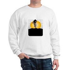 Silhouette Cyclist Sweatshirt