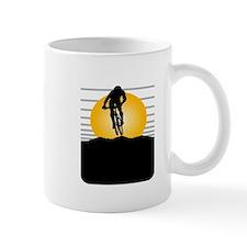 Silhouette Cyclist Mug