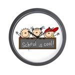 School is Cool Wall Clock