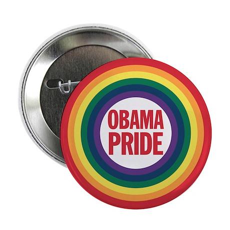 """Obama-Biden Gay Pride 17 2.25"""" Button"""