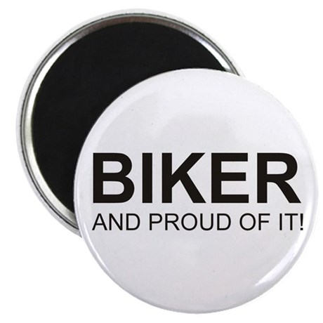 The Proud Biker Magnet