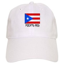 Puerto Rico Flag Baseball Cap