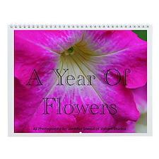 A Year of Flowers Calendar