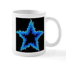 Blue Flame Star Fire Mug