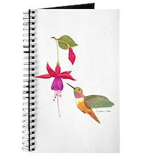 Cool Hummingbird Journal