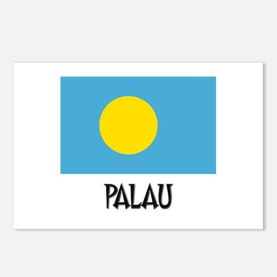 Palau Flag Postcards (Package of 8)