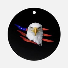 Anerican Eagle Ornament (Round)