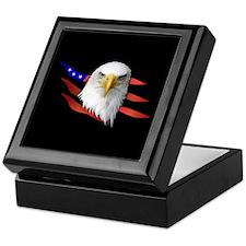 Anerican Eagle Keepsake Box